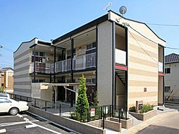 愛知県岡崎市西蔵前町1丁目の賃貸アパートの外観