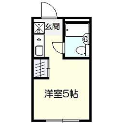 ケンウッドハウス[2階]の間取り