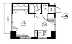 リレント三軒茶屋[4階]の間取り