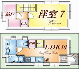 [一戸建] 兵庫県神戸市須磨区養老町1丁目 の賃貸【/】の間取り
