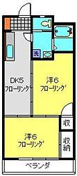 丸華ビル[305号室]の間取り