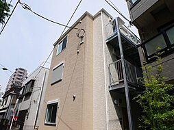 神奈川県川崎市川崎区南町の賃貸アパートの外観