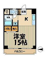 メゾン北鎌倉[303号室]の間取り