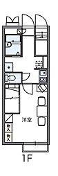 レオパレス山竹I[1階]の間取り