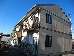 埼玉県北本市西高尾6丁目の賃貸アパートの外観
