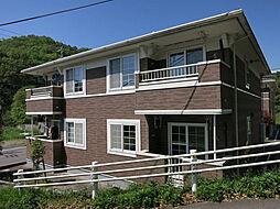 愛知県岡崎市宮石町字下宮下の賃貸アパートの外観