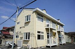 栃木県宇都宮市城南3丁目の賃貸アパートの外観