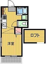 ミワプレイス[2階]の間取り