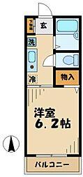 フェアリーティル2[2階]の間取り