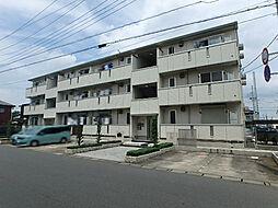 栃木県小山市神鳥谷2丁目の賃貸アパートの外観