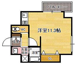 AXIS平尾1番館[5階]の間取り