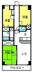 アクロプレステージ2[307号室]の間取り