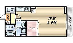 フローラ・香ヶ丘[1階]の間取り