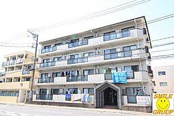 千葉県市川市欠真間1丁目の賃貸マンションの外観