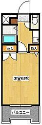 ストリームライン南福岡[404号室]の間取り
