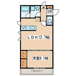 Casa de Lino[2階]の間取り