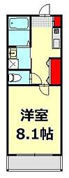 Marina Palace 薬園台[102号室]の間取り