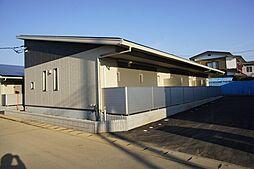 栃木県小山市乙女2丁目の賃貸アパートの外観