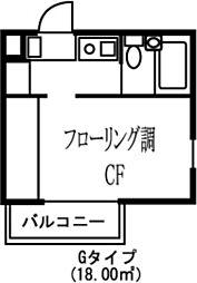 アーバンスクエア東石神井[0109号室]の間取り