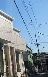 東京都大田区中央4丁目の賃貸アパートの外観