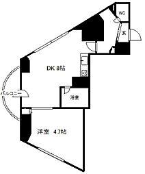 ライオンズシティ円山[901号室]の間取り