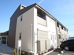 兵庫県宝塚市泉町の賃貸アパートの外観
