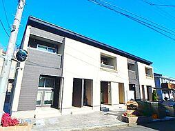 東京都日野市東豊田4丁目の賃貸アパートの外観