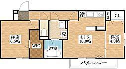 仮称)D-room加美正覚寺一丁目[1階]の間取り