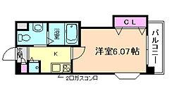 ラ・フォルム梅田north[10階]の間取り