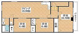 平野三栄ビル[2階]の間取り