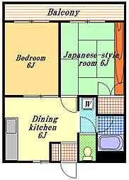 タイヨーハイツ[1階]の間取り