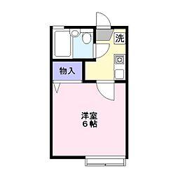 サンハイム鎌ヶ谷A棟[2階]の間取り