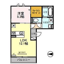 仮称)D-room山之内元町[2階]の間取り
