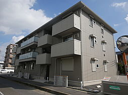 神奈川県厚木市妻田西3丁目の賃貸アパートの外観