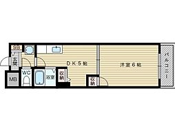 サンロード28[2階]の間取り
