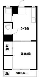 第11島田マンション[3階]の間取り
