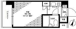 パーク・ノヴァ横浜阪東橋弐番館[5階]の間取り