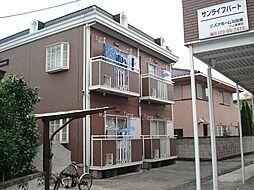栃木県栃木市今泉町2丁目の賃貸アパートの外観