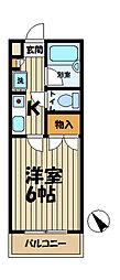 ジュネパレス鎌倉第7[1階]の間取り