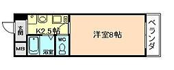 フォーラム福島野田[2階]の間取り