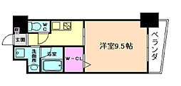 大阪府大阪市福島区吉野2丁目の賃貸マンションの間取り