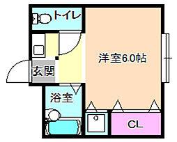 フォレスト21[3階]の間取り