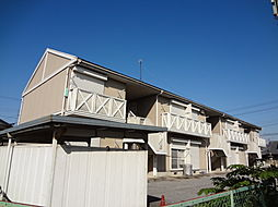 滋賀県愛知郡愛荘町長野の賃貸アパートの外観