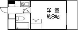 ドミールセッテ国分寺[12階]の間取り