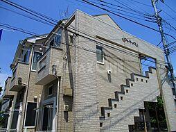 神奈川県川崎市多摩区生田2丁目の賃貸アパートの外観