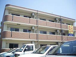 愛知県北名古屋市鹿田の賃貸マンションの外観
