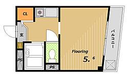 セルブ板宿[3階]の間取り