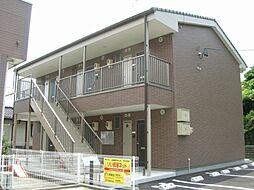 静岡県湖西市坊瀬の賃貸アパートの外観