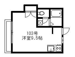 サンプレイス三宅[103号室]の間取り