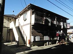 千葉県流山市松ケ丘1丁目の賃貸アパートの外観